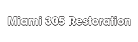 Miami 305 Restoration_wht-We do home restoration services like Servpro such as water damage restoration, water removal, mold removal, fire and smoke damage services, fire damage restoration, mold remediation inspection, and more.
